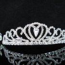 Opera Hair accessories ;Bridesmaid Tiara;Bridal Veil ;Fancy Silver Bride Headpiece#829