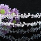 Bridal Veil ;Opera Hair accessories ;Bridesmaid Tiara;Fancy Silver Vine Bride Headpiece#4898s