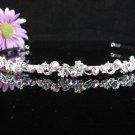 Bridal Veil ;Opera Hair accessories ;Bridesmaid Tiara;Fancy Silver Bride Headband #64abp