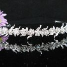 Bridal Veil ;Opera Hair accessories ;Bridesmaid Tiara;Fancy Silver Bride Headband #65
