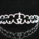 Bridal Veil ;Opera Hair accessories ;Bridesmaid Tiara;Fancy Silver Bride Headband #4815