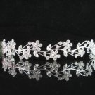 Bridal Veil ;Opera Hair accessories ;Bridesmaid Tiara;Floral Silver Bride Headband#5305s