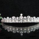 Bridal Veil ;Opera Hair accessories ;Bridesmaid Tiara;elegance Silver Bride Headpiece#5002