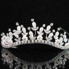 Bridal Veil ;Opera Hair accessories ;Bridesmaid Tiara;elegance Silver Bride Headpiece#5997s
