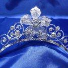 Wedding Headpiece; Bridal Veil ;Opera accessories ;Bridesmaid Comb;Teen girl Sweetheart Tiara #1496