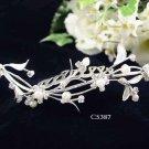 Opera accessories ;Bridal Veil ;Wedding Headpiece;Silver Bridesmaid Comb;Teen girl Tiara #5387