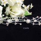 Opera accessories ;Bridal Veil ;Wedding Headpiece;Silver Bridesmaid Comb;Teen girl Tiara #5470