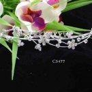 Opera accessories ;Bridal Veil ;Wedding Headpiece;Silver Bridesmaid Comb;Teen girl Tiara #5477