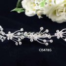 Opera accessories ;Bridal Veil ;Wedding Headpiece;Silver Bridesmaid Comb;Teen girl Tiara #5478