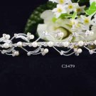 Opera accessories ;Bridal Veil ;Wedding Headpiece;Silver Bridesmaid Comb;Teen girl Tiara #5479