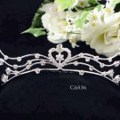 Silver Sweetheart Comb;Bride Tiara;Fashion Bridesmaid Hair accessories;Bridal Comb#6536