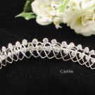 Silver Sweetheart Comb;Bride Tiara;Fashion Bridesmaid Hair accessories;Bridal Comb#6556