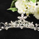 Silver Comb;Teen Girl Comb ;Bride Tiara;tiara;Fashion Bridesmaid Hair accessories;Bridal Comb#5037