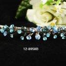 Opera Tiara;Bridesmaid Hair accessories ;Bridal Comb;Silver Teen Girl Comb ;Bride Tiara#8958b