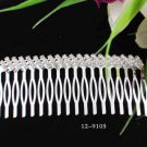 Opera Tiara;Bridesmaid Hair accessories ;Bridal Comb;Silver Teen Girl Comb ;Bride Tiara#9105
