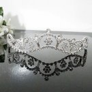 Floral Fancy Silver Tiara ;Bridal Comb; Bridesmaid Hair accessories ;Opera Tiara;Bride Tiara#8784