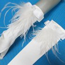 Occasion Elbow Gloves; Fashion Accessories;Satin White Bridal Gloves;Wedding Bride Accessories#99w