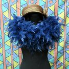 50g Feather Fringe Shawl;Coque Rooster fluffy stole; thick Marabou feather boa wrap#7