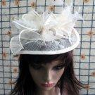 Bridesmaid Accessories;Wedding Hat; Opera Fascinator;Handmade Occasion Hat#20w