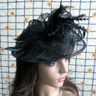 Bridesmaid Accessories;Wedding Hat; Opera Fascinator;Handmade Occasion Hat#20bk