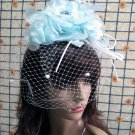 Bridesmaid Accessories;Wedding Hat; Opera Fascinator;Handmade Occasion Hat#25