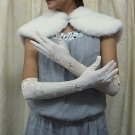 "19"" Lycra Long Gloves;Opera bridal Gloves;Wedding Glove; Bridesmaid Accessories#234i"