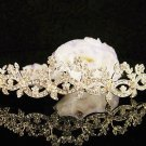 Golden Wedding Headband;Opera Tiara;Bridesmaid Hair accessories;Bridal Comb;Teen Girl Comb#614g