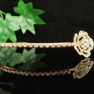 Glamour Golden Wedding Headpiece ;Opera Dancer Tiara;Bridesmaid Hair accessories#9137g