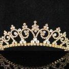Glamour Golden Wedding Headpiece ;Opera Dancer Tiara;Bridesmaid Hair accessories#509g