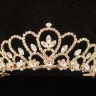 Glamour Golden Wedding Headpiece ;Opera Dancer Tiara;Bridesmaid Hair accessories#767g