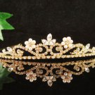 Fancy Golden Wedding Headband ;Opera Dancer Tiara;Bridesmaid Hair accessories#6812g
