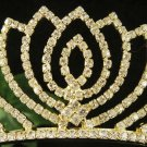 Fancy Golden Wedding Headband ;Opera Dancer Tiara;Bridesmaid Hair accessories#3080g