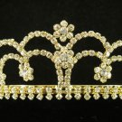 Fancy Golden Wedding Headband ;Opera Dancer Tiara;Bridesmaid Hair accessories#49g