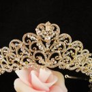 Glamour Sweet Wedding Headpiece ;Crystal Bride Regal Tiara;Party Occasion Hair accessories#1415g
