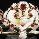 Cute Sweetheart Wedding Headpiece ;Crystal Bride Regal Tiara;Party Occasion Hair accessories#1395g