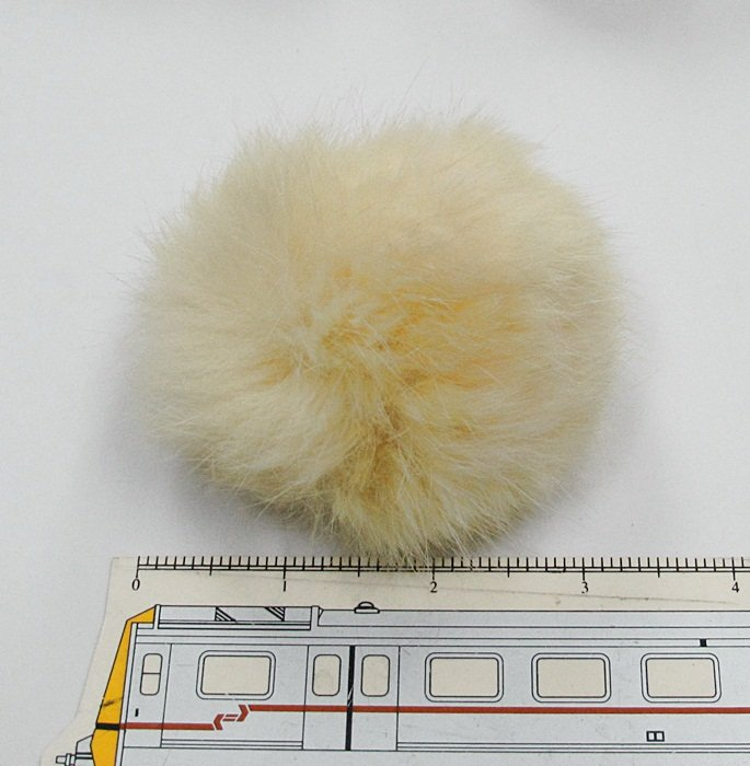 5 piece Handmade ivory Color Rabbit fur boa ; fluffy Thick Feather boa;opera accessories #FB17