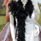 "70g 70"" montan fuzzy chandelle feather boa for dancer , decoration ,party, wedding F50"