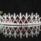 Opera Tiara;wedding regal ;bride elegance silver crystal tiara;Bride Headpiece#1432r