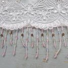 "76"" fancy acrylic & glass beaded fringe ;opera dancer parts ;garment accessories#41"