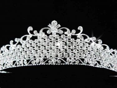 Pageant Bridal Tiara;Wedding Rhinestone Tiara;Bride Regal Tiara;Party Occasion Hair accessories#542