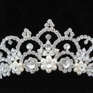 Pageant Bridal Tiara;Wedding Rhinestone Tiara;Bride Regal Tiara;Party Occasion Hair accessories#3053