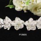 Handmade Bridal silver crystal comb ;wedding tiara;bride headpiece ;opera accessories #1263s