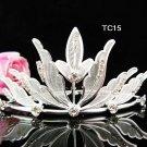 Flower girl comb;Bridal crystal comb ;wedding tiara;bride headpiece ;opera accessories#15