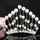 Silver Flower girl comb;Bridal crystal comb ;wedding tiara;bride headpiece ;opera accessories#4222