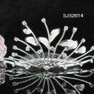 Fancy girl hair comb;Bridal crystal comb ;wedding tiara;bride headpiece ;opera accessories#10