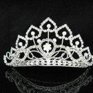Huge Wedding tiara;Fancy girl hair comb;Bridal crystal comb ;bride headpiece ;opera accessories#17