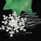 Cute Flower girl hair comb;Wedding tiara;Bridal crystal comb ;bride headpiece ;opera accessories#490