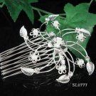 Cute Flower girl hair comb;Wedding tiara;Bridal crystal comb ;bride headpiece ;opera accessories#777