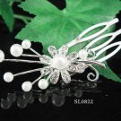 Cute Flower girl hair comb;Wedding tiara;Bridal crystal comb ;bride headpiece ;opera accessories#821
