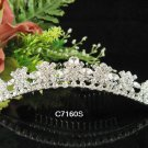 Silver Bridal crystal comb ;fancy hair comb;Wedding tiara;bride headpiece ;opera accessories#7160s